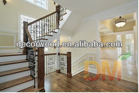 China Solid wood design Wood Folding Stairs