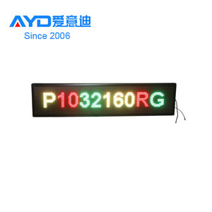 High Brightness LED Message Display Sign Wireless LED Scrolling Display Board With Window Shop