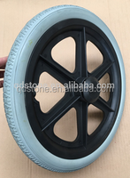 16 inches of wheelchair wheel , 16*1.75 pu foam wheel