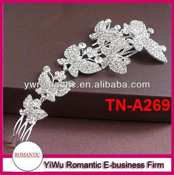 hot sale butterfly crown tiaras