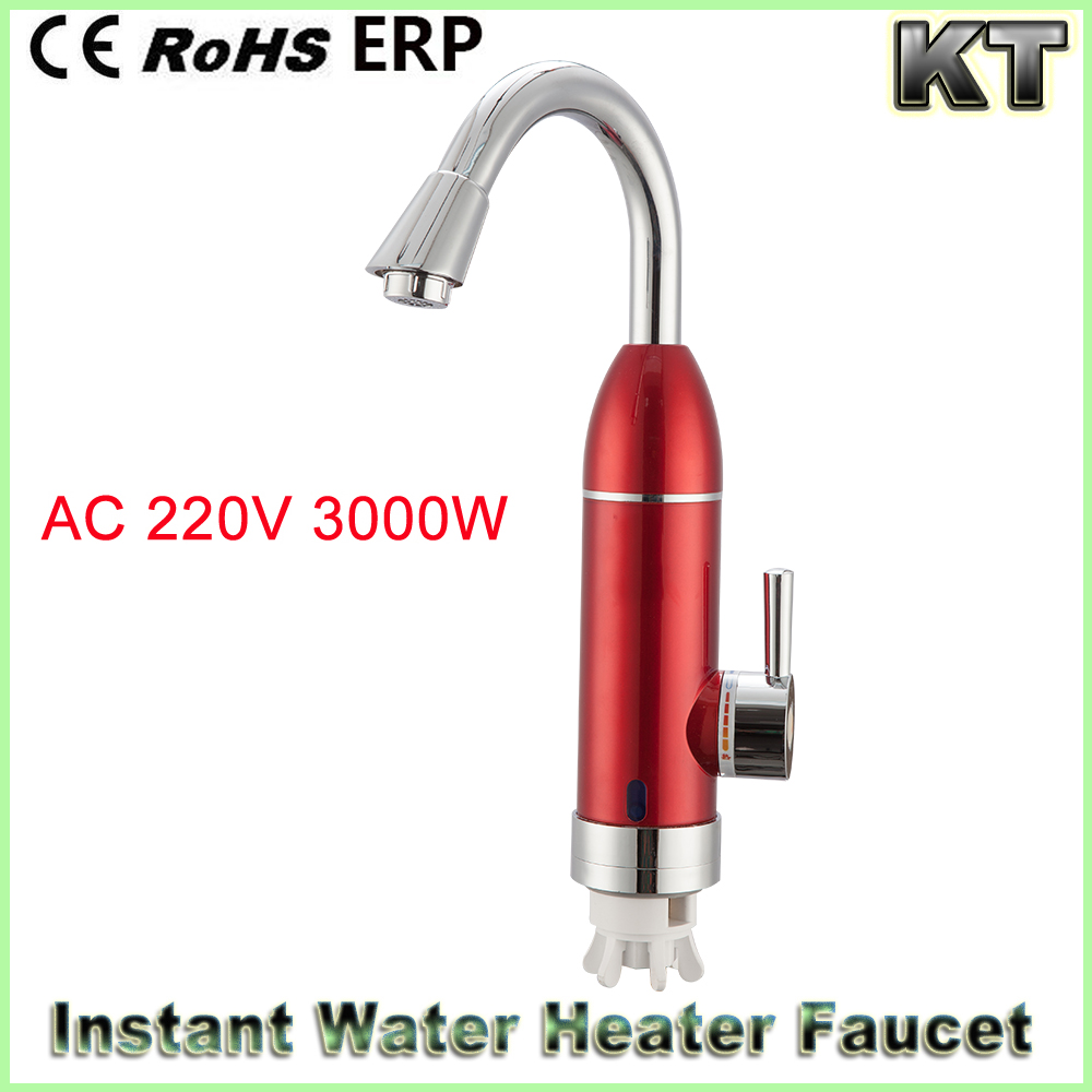 Instant hot water heater faucet1