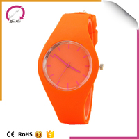 2015 white silicone new products butterfly watches hot wholesale jelly watches for kids