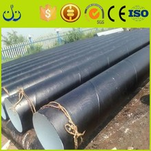 Hot Rolled ASTM A106 Black carbon Iron Seamless Steel Pipe