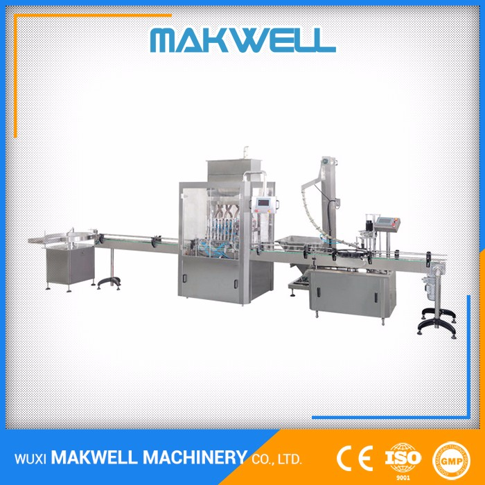 Factory Price OEM Bottle Turn Table Soy Sauce Filling Equipment