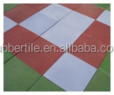 outdoor rubber tile