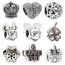 Top Selling Products in Alibaba Metal Silver Jewellery Making Bracelet Charms