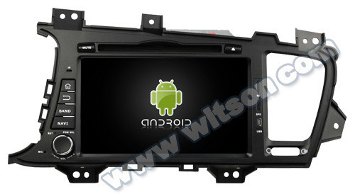 WITSON ANDROID 4.2 CAR DVD PLAYER FOR KIA/OPTIMA 2011-2012 WITH A9 DUAL CORE CHIPSET 1.6GHZ FREQUENCY STEERING WHEEL SUPPORT RDS