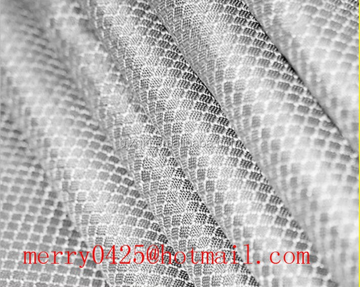 Silver Fiber EMI shielding Antiradiation fabric
