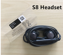100% Original oem Cell phone mobile headset in ear earphone headphone With Remote Mic for Samsung S8 plus s7 s6 s9