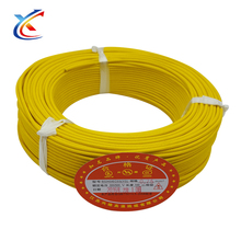 Fiberglass braided silicone rubber high temperature triple insulated wire flat cable long distance power lines