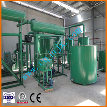 Dependable performance lube oil recycle plant