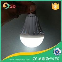 Shangda Saving electricity cost new model sound sensor led light bulb 5w emergency led bulb light with built-in battery