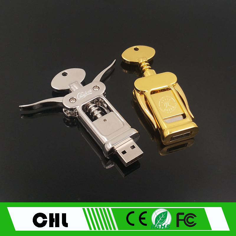 CS-C02 High Speed High Quality hot sale Crystal Bottle opener usb flash drive 16GB