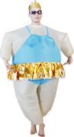 New arrival inflatable funny ballet dancer costume adult 25794#
