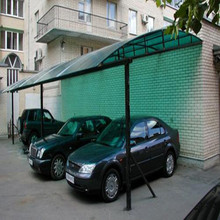 polycarbonate awnings for car shelter/awning carports