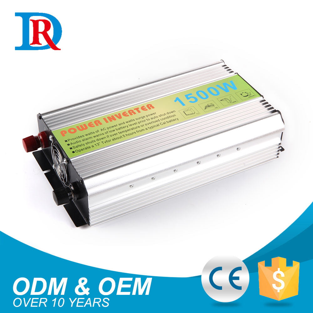 Alibaba China Hot Selling 12V 24V To 110V 220V 1.5Kva Inverter