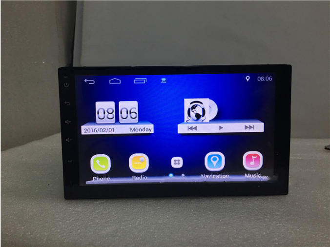 Dual core+andriod 4.4 system+ cell phone connection+ GPS function+3G/WIFI+bluetooth+ FM universal car DVD player