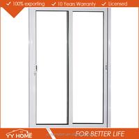 YY Home superb quality double glass sliding upvc door