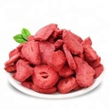 Chinese freeze dried strawberry chips with high quality