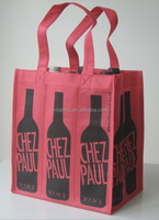 China supplier High quality reusable hot sale eco-friendly cheap non woven wine bag