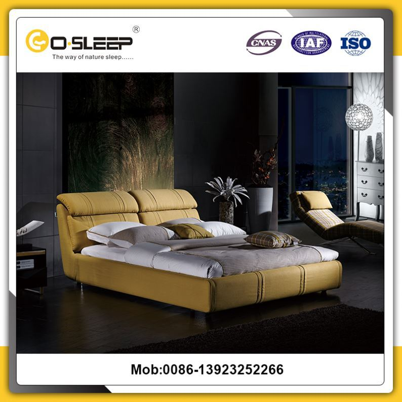 Big Wholesale alibaba double bed design furniture with great price