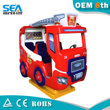 HM-C07-F Fire truck 4 seats newest ride on car mini amusement rides