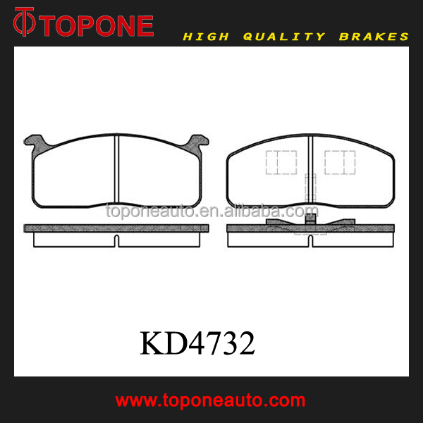 Auto Disc Ceramic KD32 Chinese Brake Pad High Quality For MITSUBISHI