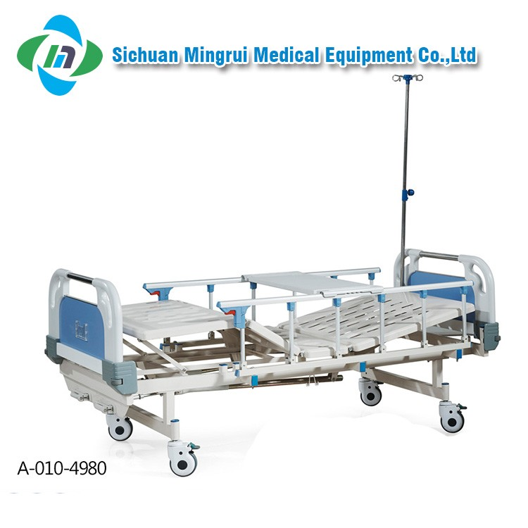 Easy to use metal manual hill rom hospital beds