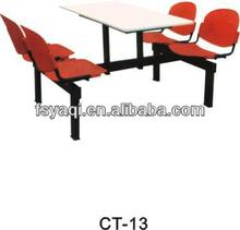 Hotsale cheap price commercial school canteen tables and chairs YA-CY01