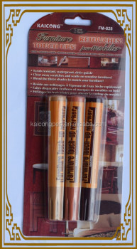 Wood Furniture Touch Up Markers Wood Stain Scratch Repair Non Toxic 3 Shades New