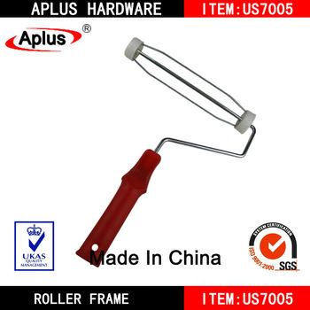 white cap cage design paint rollers frame