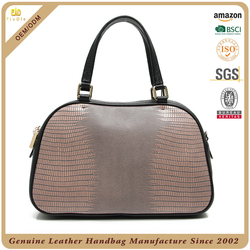 OEM high end lady leather tote bag, luxury women leather tote handbag, custom women's leather bag vintage