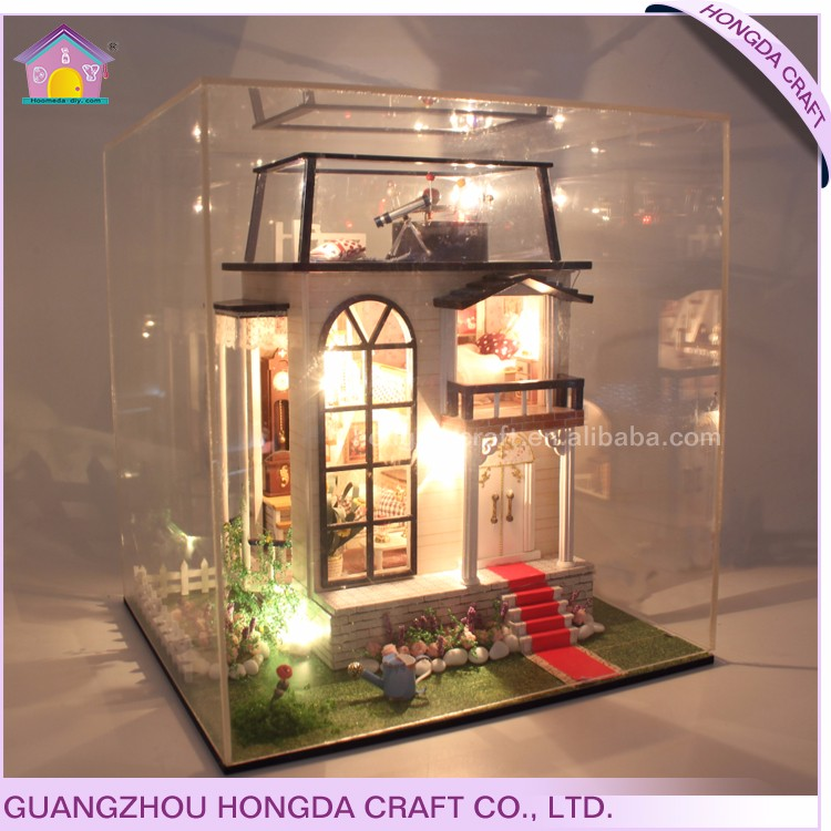 Good quality dollhouse diy kit unfinished wood pieces for crafts,wooden handicrafts