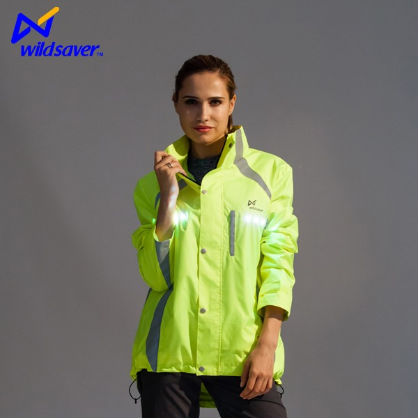 windproof safety reflective brand motorcycle climbing running jacket