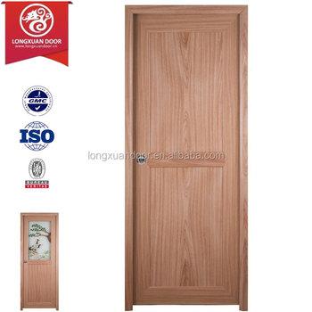 Wholesale factory custom pvc plastic interior toilet door for Cheap pvc door