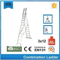 bathtub ladder Aluminum single cable ladder pass CE