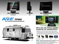 Made in Taiwan Vans Accessary Tire Pressure Monitoring System TPMS for Airstream Motorhome