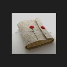 2017 hot sell new products wholesale alibaba website handmade felt removable book cover made in China