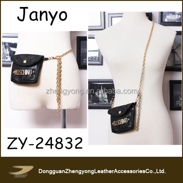 2015 Most Fashional Waist Chain for Show Multifunction Belt with wallet