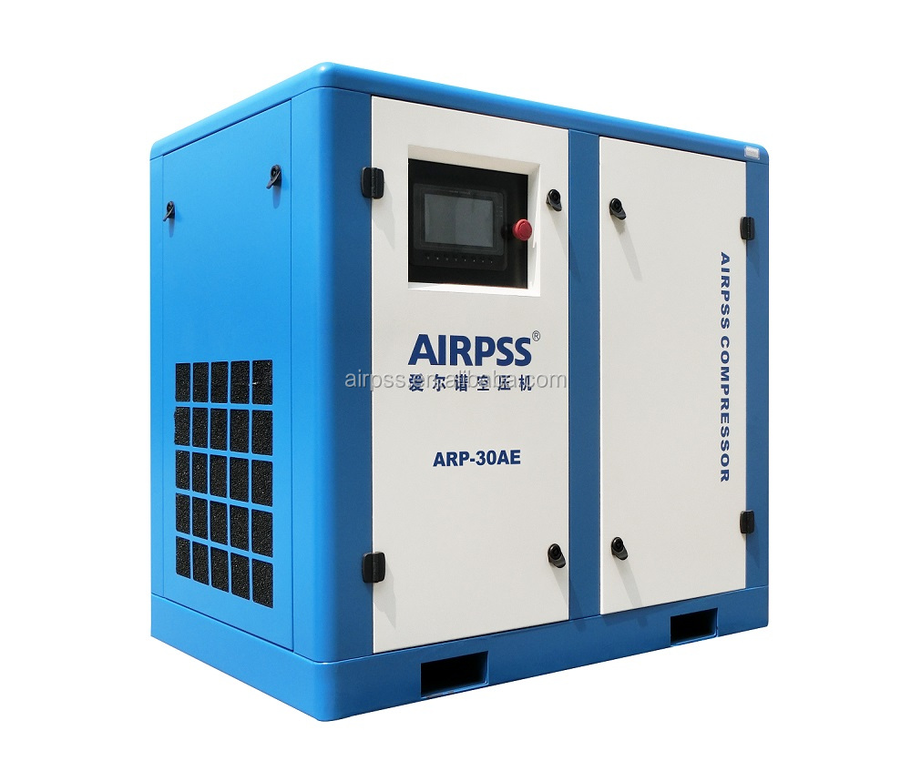 Air cooling High pressure screw compressor