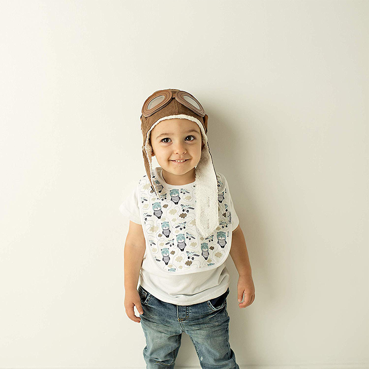 2019 popular high quality waterproof baby feeding bib bandana