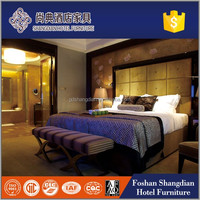 Foshan factory unfinished grand hyatt hotel vip bed room furniture
