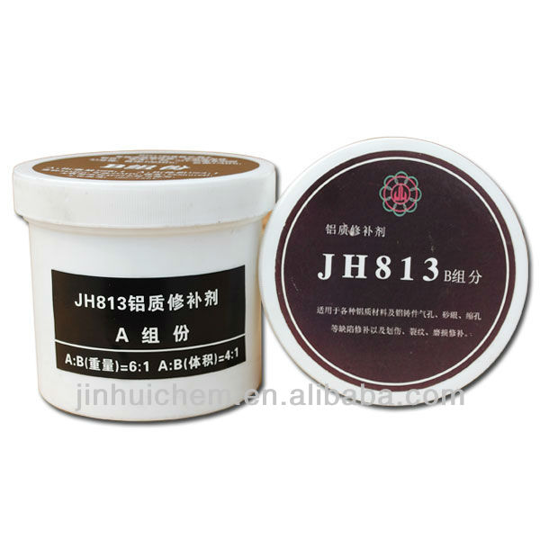 813 Aluminum repairing adhesive , Wear & corrosion resistance Epoxy adhesive 813