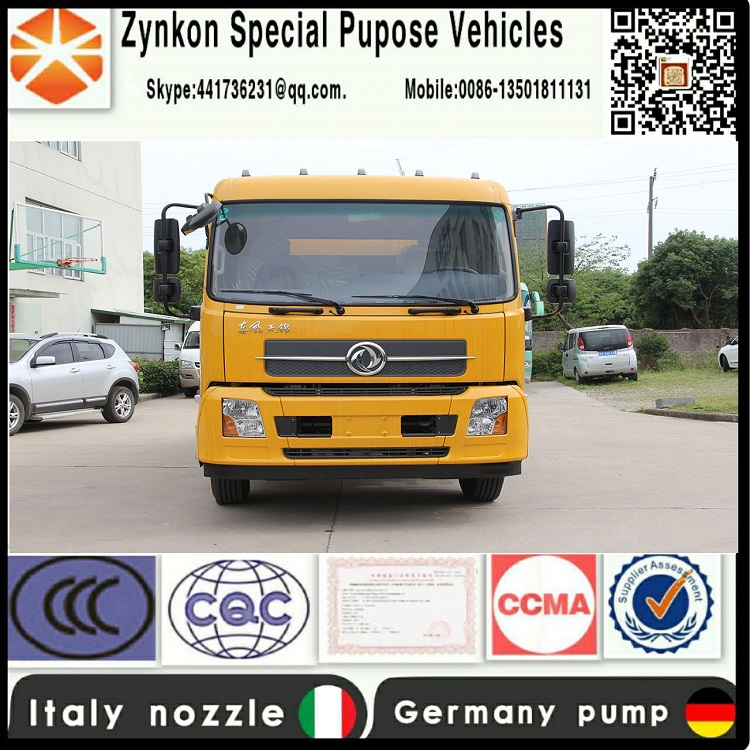 ZYNKON WX5120GQXV 6000L High pressure sewer jetting truck with high pressure Germany water pump and Italy nozzle