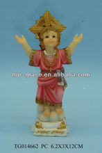 Polyresin Religious statues baby jesus in gifts and crafts