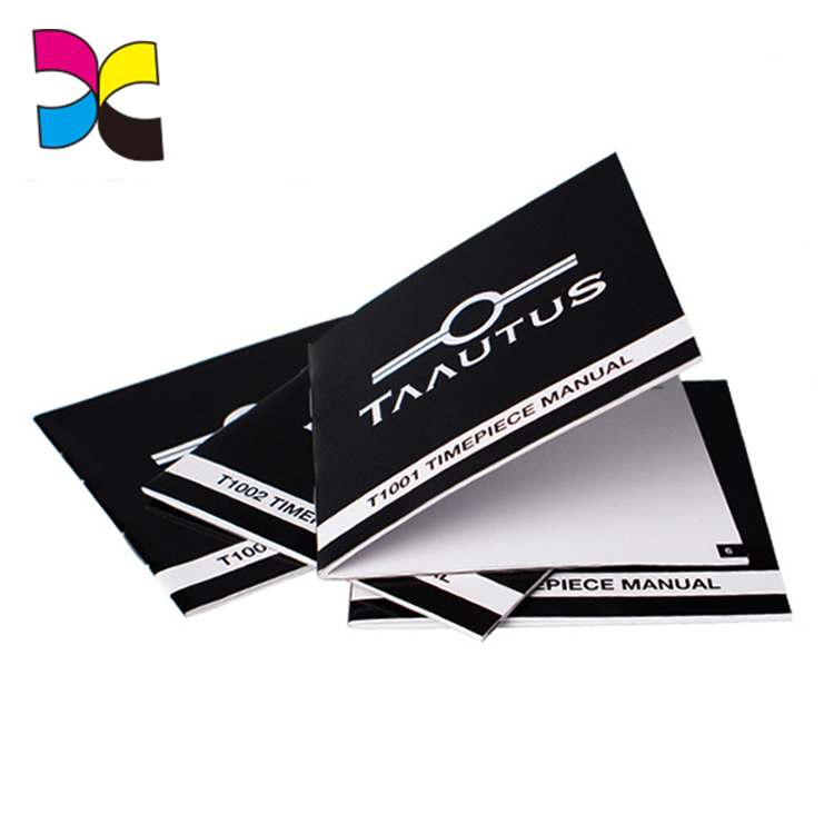 Magazine printing services perforated booklet brochure book printed