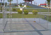 Luxurious and big galvanized Dog Cage