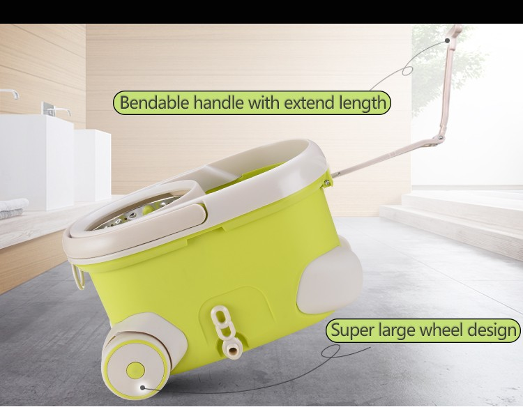 2020 China Microfiber walkable home Clean Mop with telescopic handle