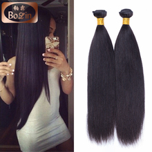 Wholesale Cheap Human Hair Silky Straight Hair Bundles No Shedding No Tangle 100% Remy Virgin Human Hair Extension