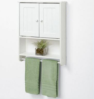 BOSHANG Top Glass Home Furniture Bathroom Wall Cabinet